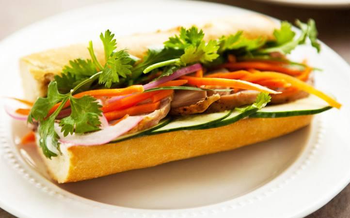 Charbroiled Pork or Chicken Sandwich